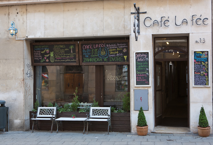 Café la Fée - salátpoint v Olomouci